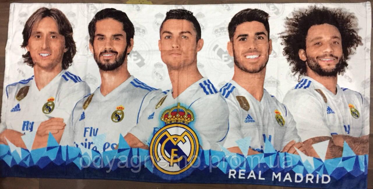 Полотенце Real Madrid оптом, 70*140 см.