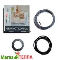 Теплый пол в стяжку GrayHot-15 (Украина) - двужильный нагревательный кабель
