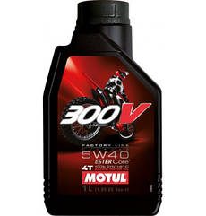 Motul 300v 4t Factory Line Off Road 5w40, 1л