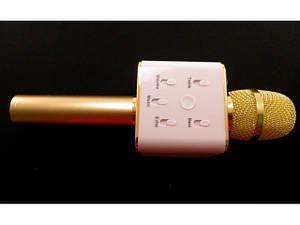Микрофон .. беспроводной Bluetooth караоке Q 7  *36968