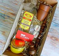 Подарок для отца - набор Козацкий медовый с настоящей медовухой и трубкой | UkrainianBox . Доставка бесплатно