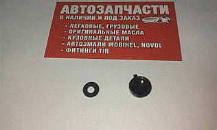 Крышка самореза с пресс-шайбой черная