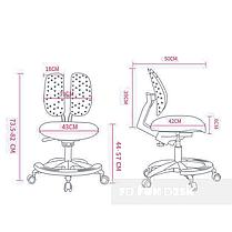 Подростковое кресло для дома FunDesk Primo Grey, фото 3