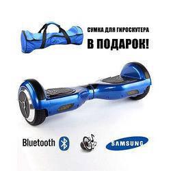 Гироскутер Smart Balance синий с мобил. прилож Тао+самобаланс