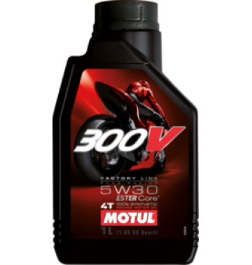 Motul 300v 4t Factory Line ROAD RACING  5W30, 1л