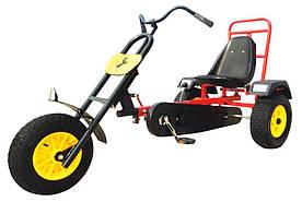 Веломобіль Harley для підлітків від 14 років і вагою до 120 кг (р. 175х77х88 см) ТМ KIDIGO VM7