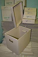 Архивные короба из гофрокартона оптом
