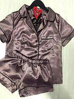 Жіноча піжама сорочка і шорти