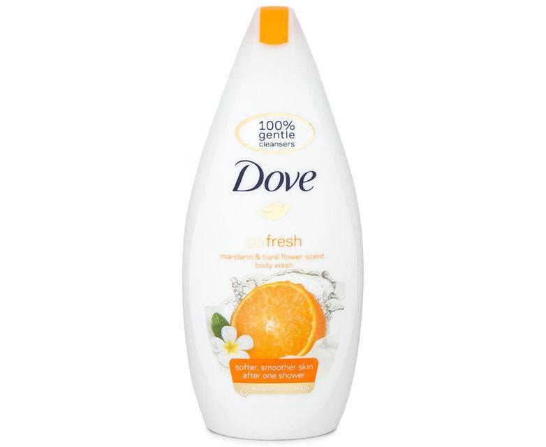 Зволожуючий крем-гель для душу Dove Mandarin & tiare flower scent 500 мл