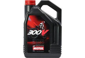 Motul 300V 4T FACTORY LINE ROAD RACING 5w40, 4л