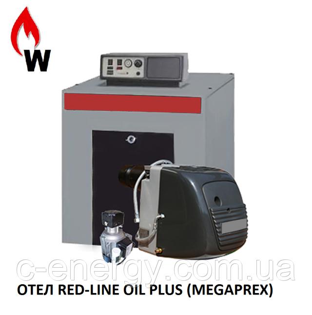 Котел RED-LINE OIL PLUS  Megaprex   на отработанном масле