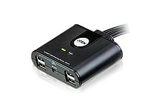 US424 4-портовый USB 2.0 коммутатор для совместного использования 4-х периферийных устройств