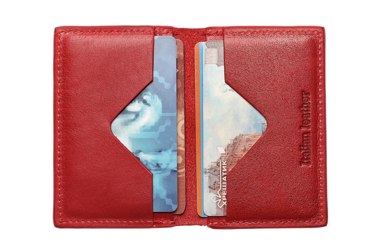 CardCase cartolina, глянец, красный
