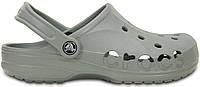 Женские кроксы Crocs Light Grey серые