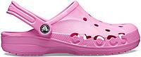 Женские кроксы Crocs Party Pink розовые