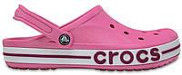 """Женские кроксы Crocs """"Pink/Papper"""" розовые"""