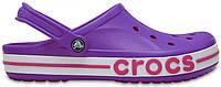 """Женские кроксы Crocs """"Purple/Pink"""" фиолетовые"""