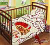 Детское постельное белье в кроватку для девочек с собачками мой Дружок