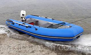Надувная моторная лодка с жестким корпусом RIB 350/Valmex