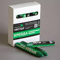 Маркер восковой маркировочный для любой поверхности, зеленый