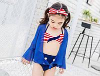 """Винтажный пляжный костюм для девочки """"Шик"""", фото 1"""