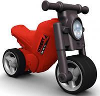 Мотоцикл-каталка Гонки + защитные насадки, BIG