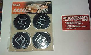 Наклейка на колесный диск Honda