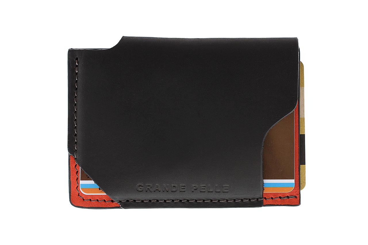 CardCase piccolo, черный с красным