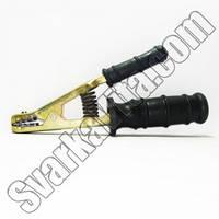 Электрододержатель с резиновой ручкой (500 А)