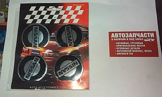 Наклейка на колесный диск Nissan