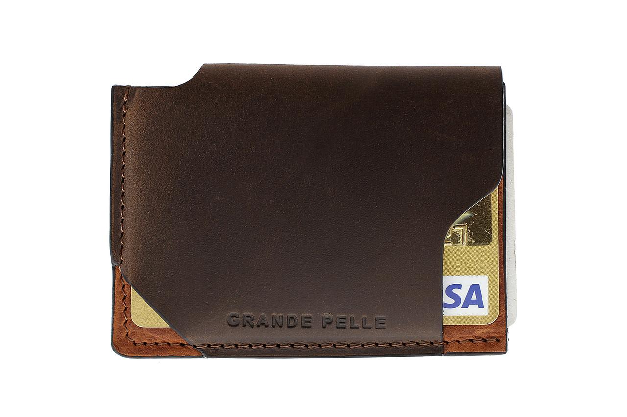 CardCase piccolo, коричневый и терракот