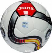 Мяч футбольный FLAME бело-красно-черный №5, фото 2