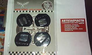 Наклейка на колесный диск Seat