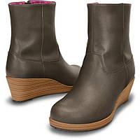 Кожаные демисезонные ботинки Crocs, W7, W7, 5