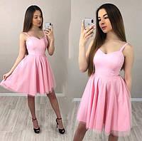 cde70918e57 Женское платье Розовое кружевное в категории платья женские в ...