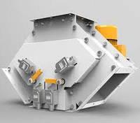 Клапан перекидной трехсторонний с смотровым окном 300х300 45° с электроприводом