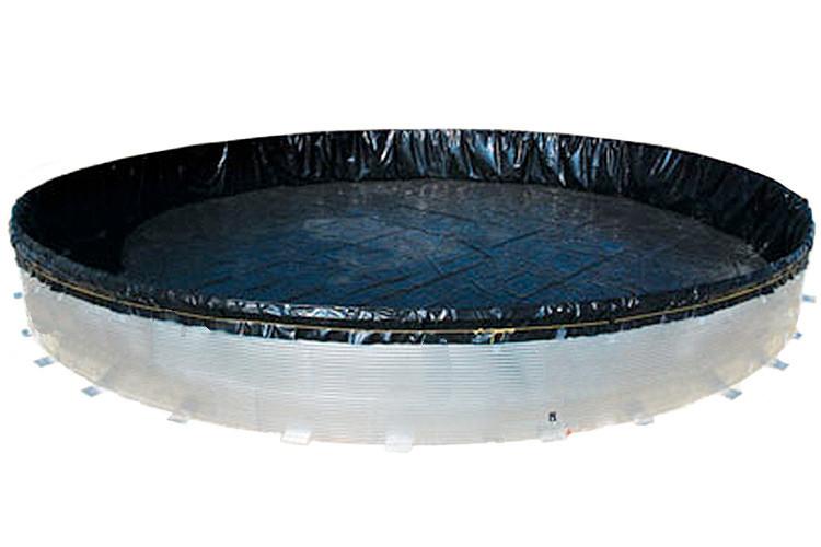 Открытая металлическая емкость «ГидроБак» 30 м.куб.