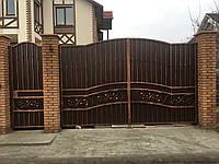 Ворота распашные кованые , фото 1
