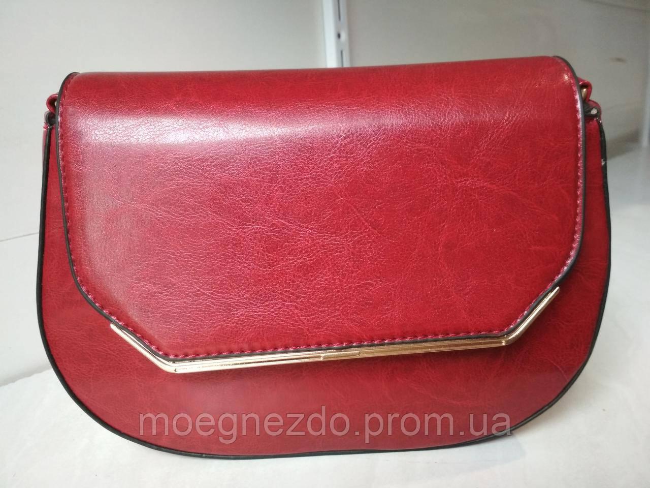 294ec8bed99a Женский клатч бордового цвета (марсала) - Интернет магазин Olala-Trend в  Одессе