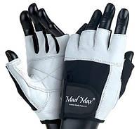 MadMax Перчатки Белые MAD MAX FITNESS MFG 444