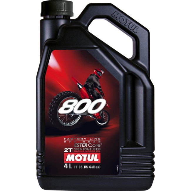 Motul 800 2T FACTORY LINE OFF ROAD, 4л
