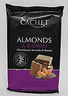 Шоколад Cachet Almonds & Raisins 300 гр.