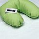 Подушка подковка под голову клиенту (кожзам), фото 3