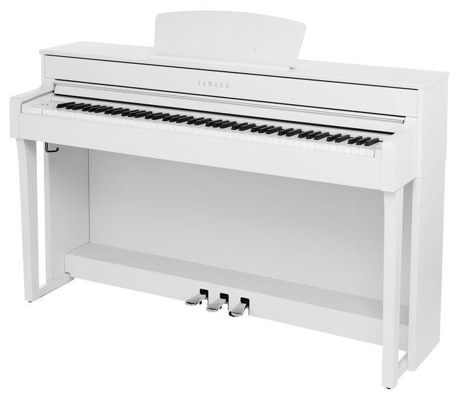Цифрове піаніно Yamaha CLP645WH + банкетка