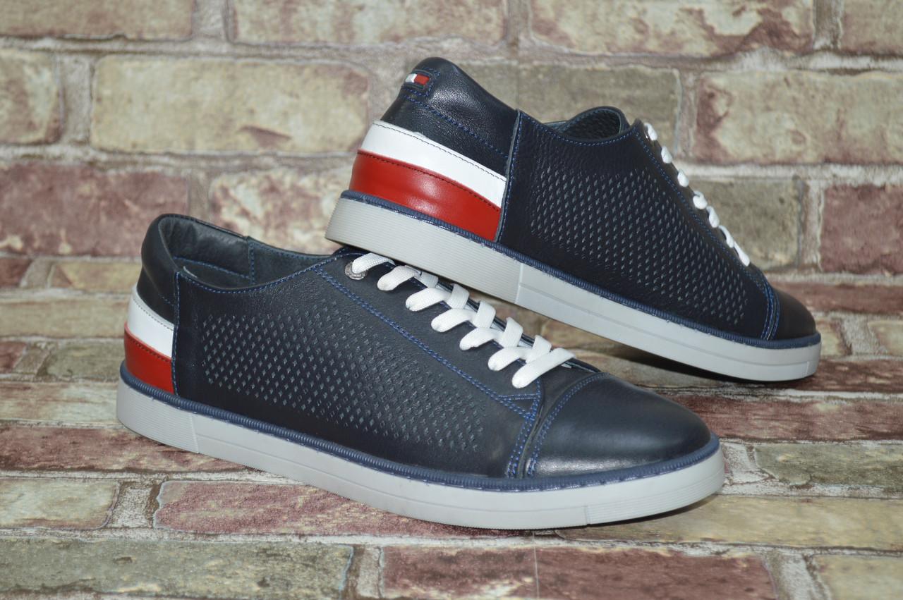 c5b30f283223 Мужские туфли кеды кроссовки Tommy Hilfiger Тoмми Xилфигep натуральная кожа