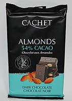 Шоколад Cachet Almonds 54% Cacao 300 гр.