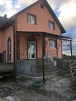 Навесы для входа в дом