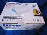 УФ Лампа  на 36 Вт для наращивания ногтей индукционная с вентилятором и таймером 1,2,3 мин Simei , фото 4