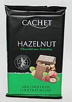 Шоколад Cachet milk chocolate Hazelnut 300 гр.