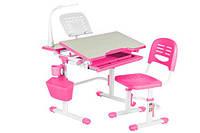 Комплект парта - стол + стул  Lavoro Pink